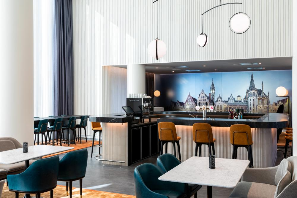 Hotel Marriott Gent horeca-inrichting De Laere Decor
